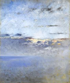 August Hagborg (Swedish, 1852 - 1921)  Sea and Clouds