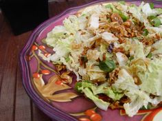 Chinese Cabbage salad with peanut oil dressing... new site. ㄟ( ̄▽ ̄ㄟ)