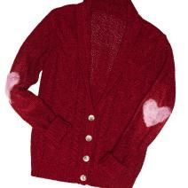 ==>DIY Elbow Patches  DIY: Love heart elbow patch