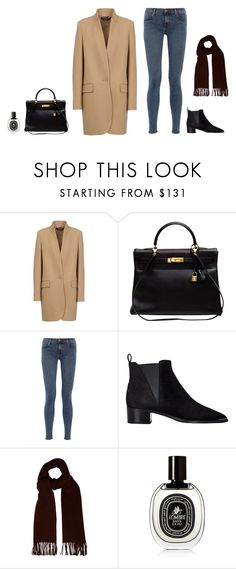 """Untitled #41"" by klinds ❤ liked on Polyvore featuring STELLA McCARTNEY, Hermès, J Brand, Acne Studios and Diptyque"