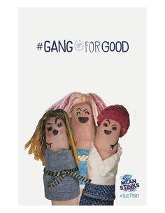 #GangUpForGood #BluePinky