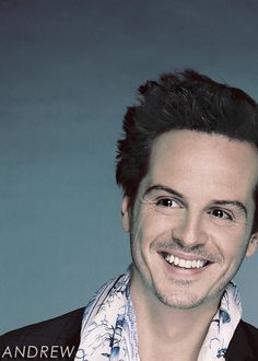 Andrew Scott    He's actually attractive when he's not crazy. <- He's attractive even when he is crazy!!