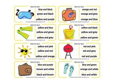 clothes peg numbers summer english for kids