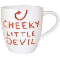 #JamieOliver Mini Cheeky #Mug - Cheeky Little Devil http://www.palmerstores.com/product/jamie-oliver-mini-cheeky-mug-cheeky-little-devil/942/