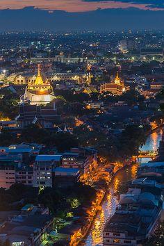 Golden Mount . Thailand
