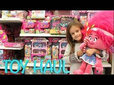 WALMART TOY HAUL HUNT FOR NEW TOYS SHOPKINS MONSTER HIGH BARBIE TROLLS M...