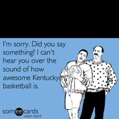 Kentucky Wildcat Card