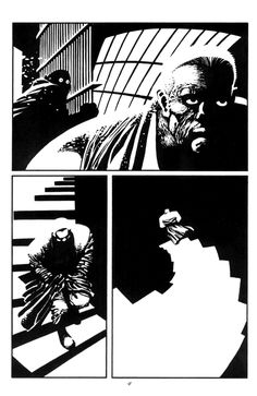 Frank Miller:spectacular black and white