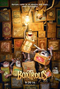 The Boxtrolls Same group that did Coraline