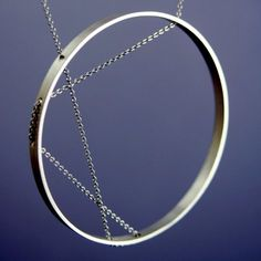 Inner Circle necklace by Vanessa Gade Jewelry Design via Supermarkethq.com