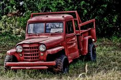 old jeep pickups - Saferbrowser Yahoo Image Search Results Cj Jeep, Jeep 4x4, Jeep Wrangler, Willys Wagon, Jeep Willys, Trucks Only, Old Trucks, Jeep Pickup Truck, Old Scool