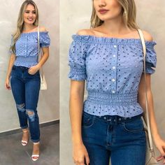 Women's Shirts Blouses has never been so Awesome! Since the beginning of the year many girls were looking for our Fresh guide and it is finally got released. Now It Is Time To Take Action! Modest Fashion, Fashion Dresses, Sleeves Designs For Dresses, Fancy Tops, Crop Top Outfits, African Fashion, Stylish Outfits, Blouse Designs, Womens Fashion