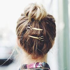 2019 New Half Moon Shape Fashion Hairpin Hair Decoration Hairclip Gold Silver Metal For Women Geometric Vintage Hair Clip Relieving Rheumatism Hair Jewelry Jewelry & Accessories