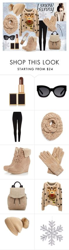 Snow bunny by natasa-topalovic on Polyvore featuring River Island, rag & bone, FOSSIL, Collection XIIX, Isotoner, Linda Richards, Karen Walker and Tom Ford