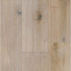 Flooring for the whole house - Wide Plank Engineered Wire Brushed Provence White Oak Wood Floors.