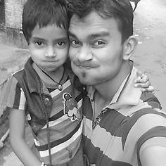 Having a great time in village #village #tour #etawaha #bharthana #sweet #kid #vacation #holi #holiday