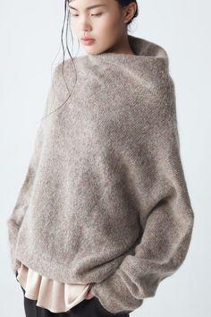 Knitting Inspiration: Eden Oversized Mohair Sweater NEEMIC