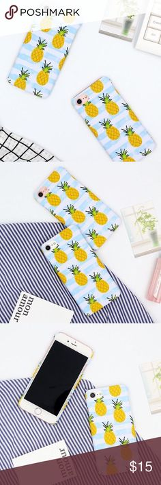 Pineapple iPhone 7 iphone hard phone case 🌈hard phone case 🌈brand new and high quality 🌈protect your phone from shock and friction, anti-vibration and prevent breaking 🌈precisely cut openings to allow full access to all functions of your iPhone 📱  🌈easy to install and disassemble  🌈match you different style and occasion Accessories Phone Cases