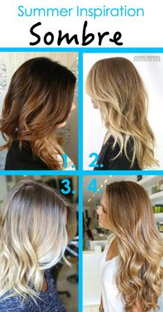 Sombre (Subtle Ombre) Hair Inspiration www.midwest-state-of-mind.com