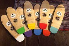 Penny cruisers #longboard #handcraft #wood #skateboard #penny #school #colours #surf #shop #handmade