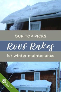 Roof rakes, like most tools, come in a range of sizes and (unfortunately) quality. And the structural health of your roof, not to mention the strength of your back, shouldn't be compromised by shoddy tools. So we've saved you some aches and heartaches (and hopefully, some dollars too) by rounding up and trying out the best roof rakes available now. Check out our top picks! Ice Dams, Rounding, Story House, Best Budget, Product Review, Garden Tools, Lawn, Strength