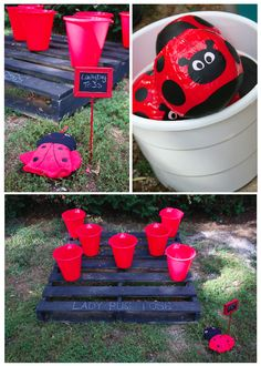 Lady Bug Party Games
