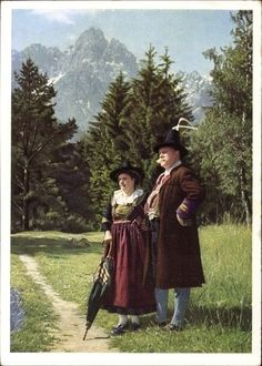 Hello all, Today I will do a costume tour of Tyrol, or Tirol. This famous region in the Austrian Alps has a distinct costume tradi. Alps, Austria, Switzerland, Germany, Europe, Tours, Costumes, Embroidery, Couple Photos