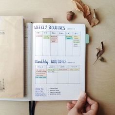 Updated routines version 2.0, the big bone of my every week planning. I have my…