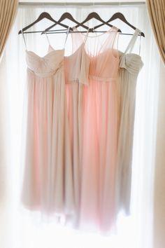 Long bridesmaid dresses: http://www.stylemepretty.com/little-black-book-blog/2014/04/10/new-york-glamour-in-a-wisconsin-barn-wedding/   Photography: Paper Antler - http://paperantler.com/
