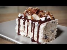 Το πιο εύκολο Παγωτό Αρμενοβίλ - Armenovil Ice Cream - YouTube Krispie Treats, Rice Krispies, Good Food, Ice Cream, Sweets, Chocolate, Easy, Desserts, Organising