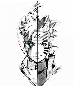 ✔ Anime Dibujos A Lapiz Goku Naruto Drawings, Naruto Sketch Drawing, Anime Sketch, Otaku Anime, Anime Art, Naruto Wallpaper, Wallpaper Naruto Shippuden, Naruto Tattoo, Naruto Fan Art