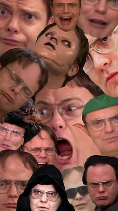 Office Wallpaper, Trendy Wallpaper, Dwight K Schrute, The Office Show, Style Snaps, Red Aesthetic, Interesting Faces, Iphone Case Covers, Michael Kors Bag