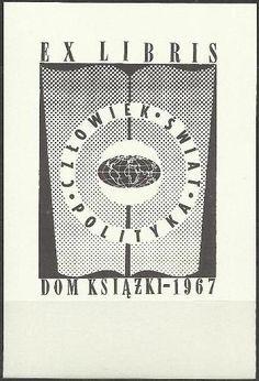 Exlibris Dom Książki 1967r.