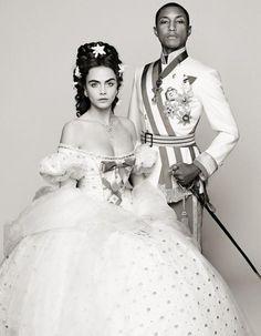Cela va sans dire, le Kaiser de la mode sait s'entourer. http://www.elle.fr/Mode/Les-news-mode/Autres-news/Pharrell-Williams-nouvelle-image-de-Chanel-2853726