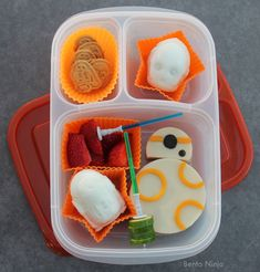 This Is Not The Lunch You're Looking For... Star Wars droids bento lunch