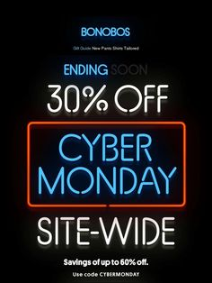 15 best email holidaycyber monday images on pinterest cyber last chance for up to 60 off bonobos fandeluxe Choice Image