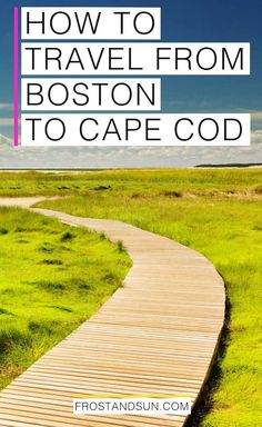 Check out my tips on the best ways to travel from Boston to Cape Cod, Martha's Vineyard, and Nantucket, avoiding as much traffic as possible! Boston Vacation, Cape Cod Vacation, Boston Travel, New England States, New England Fall, New England Travel, Day Trips From Boston, Boston Things To Do, East Coast Travel