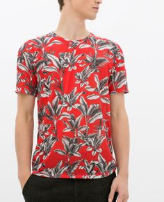 Image 3 of FLORAL PRINT T-SHIRT from Zara