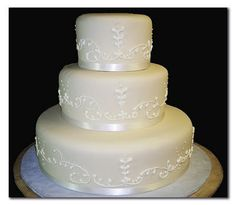 wedding cakes, simple cakes, 3 tier cakes, specialty cakes, http://tiered-expressions.com