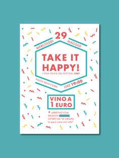 Take it Happy - party confetti