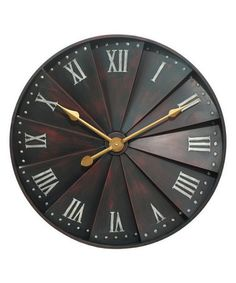 Loving this Windmill Wall Clock on #zulily! #zulilyfinds