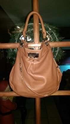 Marc by Marc Jacobs Saddle Leather Hobo/Crossbody with Dustbag #MarcbyMarcJacobs #CrossbodyHobo