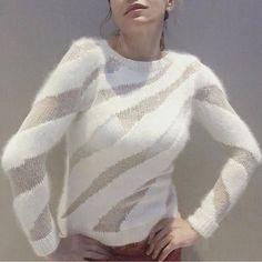 Matthew Adams Dolan 2018-2019 Мой вязаный профиль👇👇👇 @lubov_lumoda #вязаныйподиум #knitwear #вязаныеидеи #вязаниеназаказ #вязанаямода… Sweater Knitting Patterns, Knitting Charts, Lace Knitting, Knitting Designs, Knitting Stitches, Crochet Coat, Crochet Shirt, Vogue Knitting, Knitwear Fashion