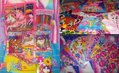 You just weren't cool unless you had the stickers, folders, back pack, pencils, etc