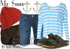 Mr. Smee  Minues the birkenstocks just add flip flops and I would be Mr smee for the party...too hot for that red beanie though. What other options?