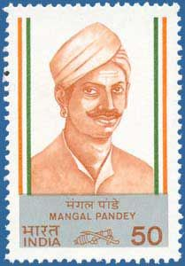 3acbba3feb5 Mangal Pandey freedom fighter soldier. Barrackpore. Revolt. 1857 revolt Old  Stamps