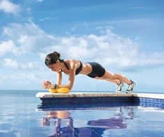 Pumped-Up Planks: Work abs, obliques, shoulders, chest, back, and thighs with the 'Power Plank' #SelfMagazine