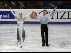 "Anjelika Krylova & Oleg Ovsyannikov(Russia)- ""Masquerade Waltz' (1997 Worlds)-Sensational!"