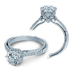 Verragio Couture-0429DR 14 Karat Engagement Ring Starting around - $3,550
