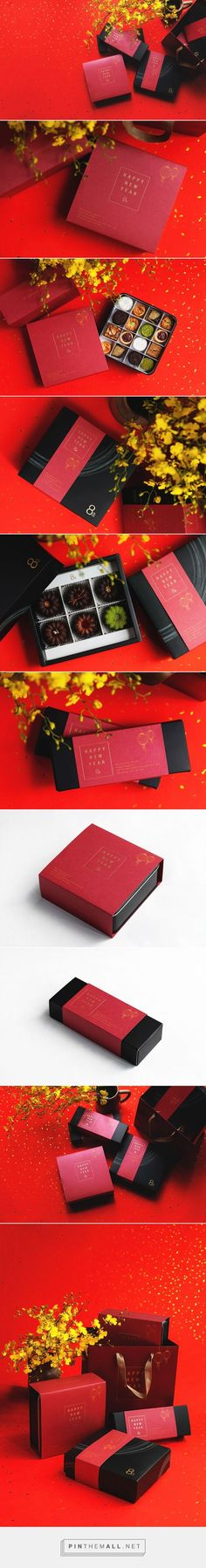 8%ice 2016 #New Year Packaging on Behance by Tan Yu-Chen Taipei, Taiwan curated by Packaging Diva PD.  Tasty Happy #New Year packaging.